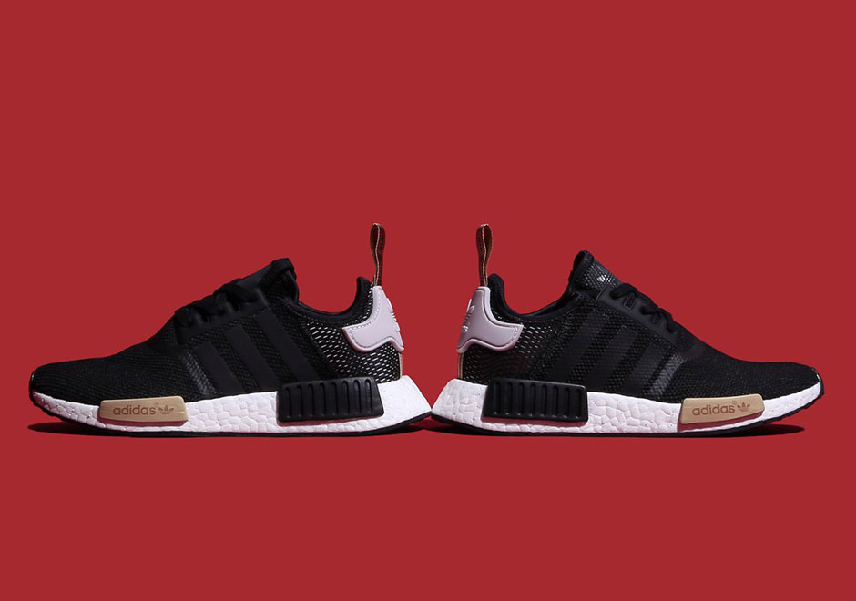 Amazon ADIDAS NMD R1 Black Mens Shoes Running Cross Training