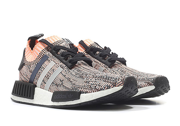 "8cae9d92ade430 The adidas NMD R1 Primeknit ""Sun Glow"" was one of the more sought after  general releases of the adidas NMD this winter. The salmon-like pink shade  managed ..."