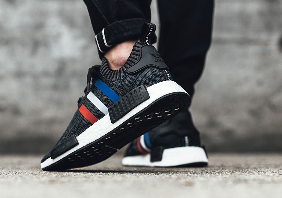 Adidas Nmd R1 Pk Tricolor For Salg ElFdmR