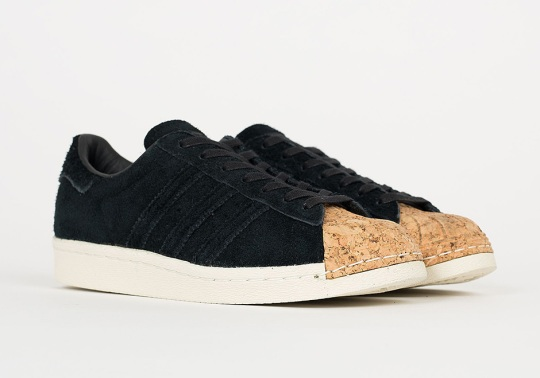 The adidas Superstar's Classic Shell Toes Get A New Cork Finish