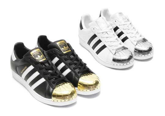 The adidas Superstar Is Coming With Gold And Silver Shelltoes