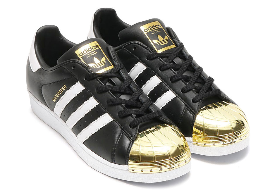 "the best attitude 4f424 df45a adidas Superstar ""Gold Toe"""
