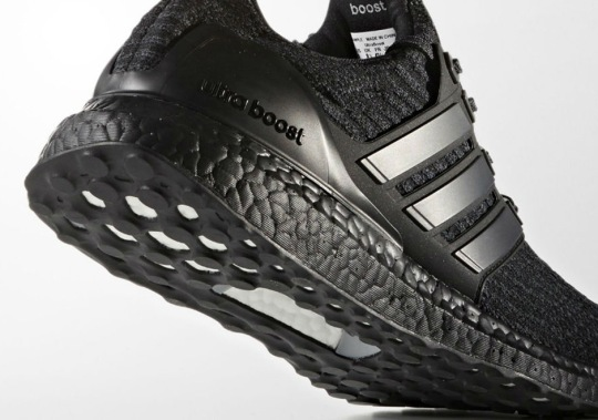 adidas Ultra Boost 3.0 Releasing In Triple Black