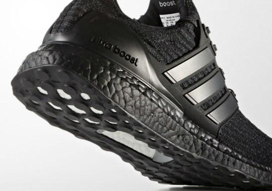 adidas Ultra Boost 3.0 Releasing In Triple Black