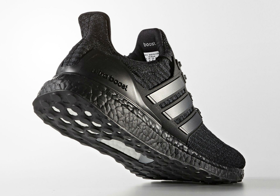 huge discount 88e93 87aab adidas Ultra Boost 3.0 Triple Black  SneakerNews.com