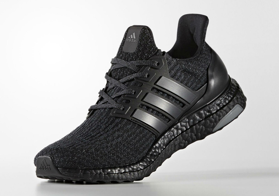 Adidas Ultra Boost 3,0 Kjerne Svarte Menns