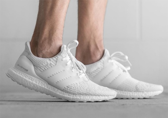 "adidas Ultra Boost 3.0 ""Triple White"" – Where to buy"
