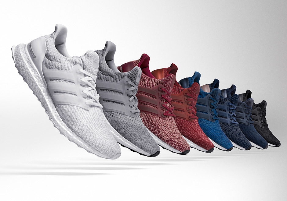 The adidas Ultra Boost 3.0 Releases Tomorrow In 11 Different Colorways