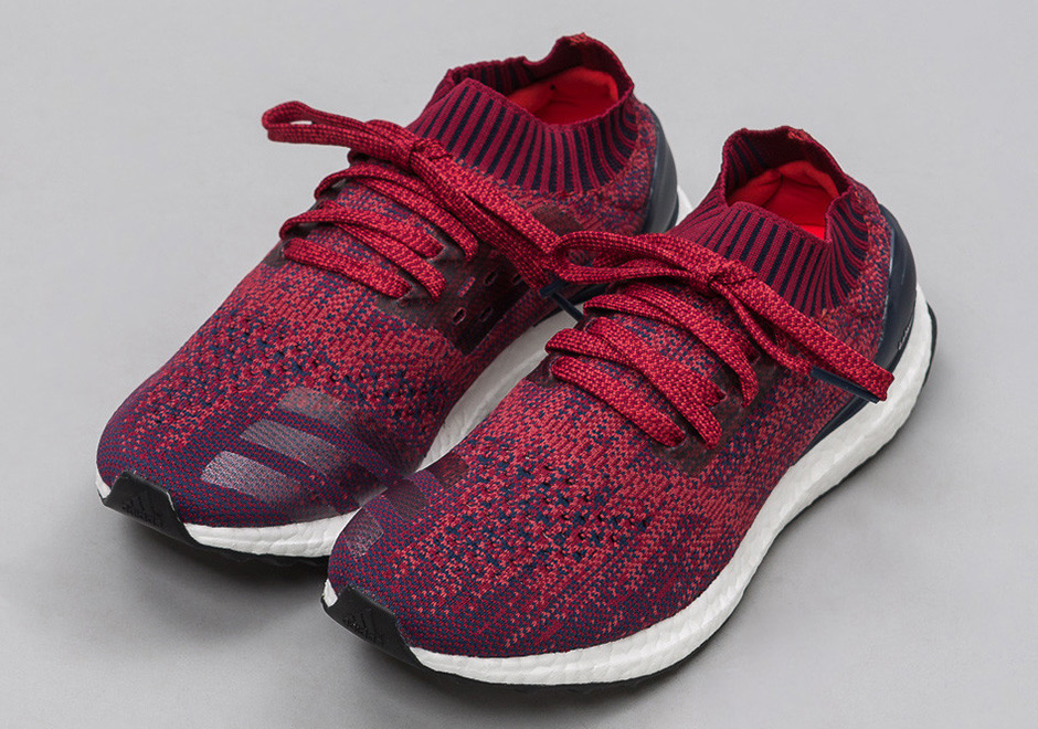 new style 80036 1ebaf adidas Ultra Boost Uncaged Mystery Red BB4678   SneakerNews.com
