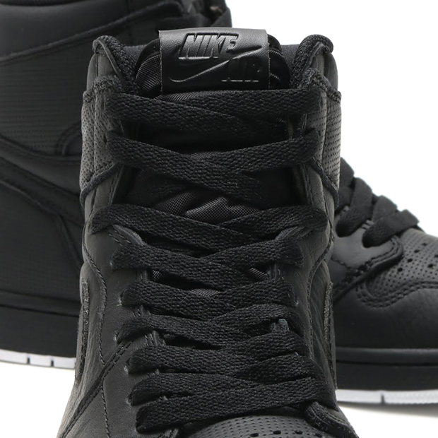 newest 8c991 d923f Air Jordan 1 High Blackout 555088-002 | SneakerNews.com