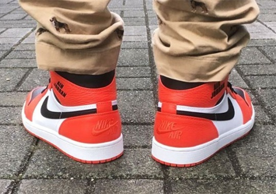 "b283616aa85 On-Foot Look At The Air Jordan 1 ""Rare Air"""