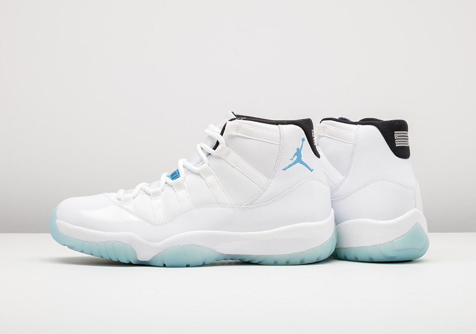 competitive price 1ec20 b62fd air-jordan-11-legend-blue-retro-history
