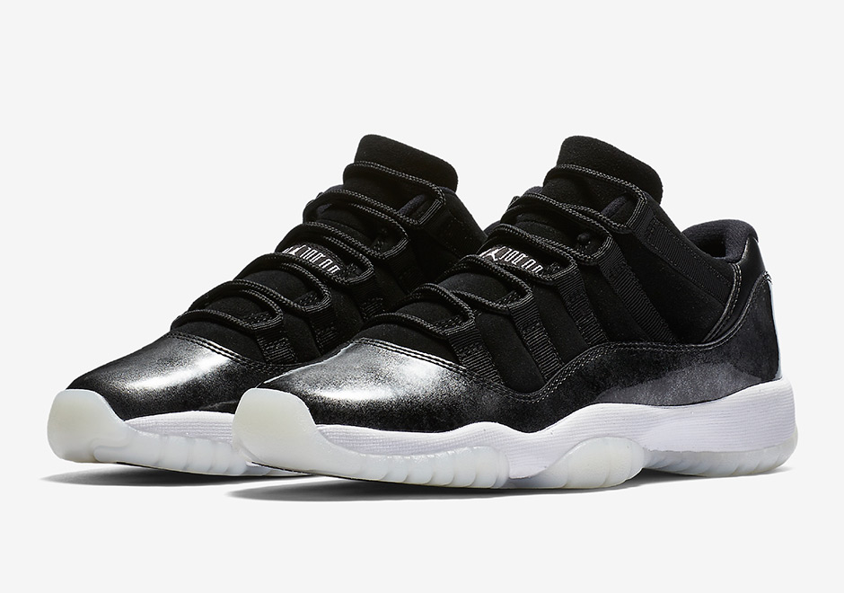 "c12404cd14a Air Jordan 11 Low ""Barons"" Will Release In Kids Sizes"