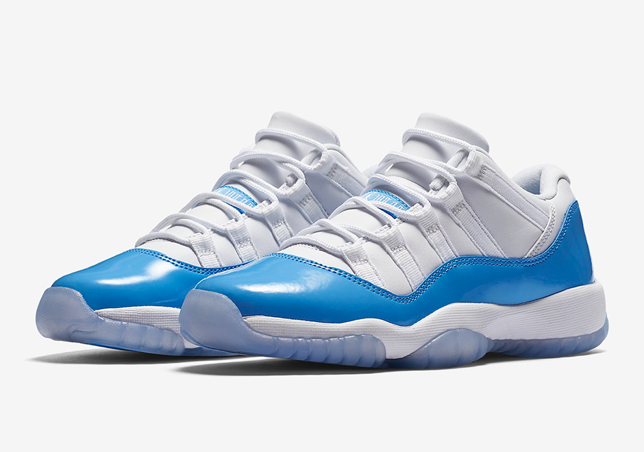 "ac2dccc2fbc0 Air Jordan 11 Low ""UNC"" Releasing In Summer 2017"