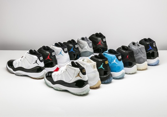 Complete Guide To The Last Decade Of Air Jordan 11