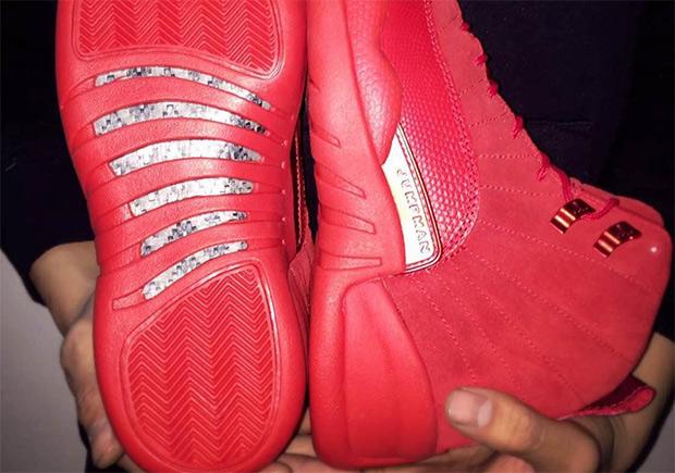9b6b74158fed Air Jordan 12 Red October Preview