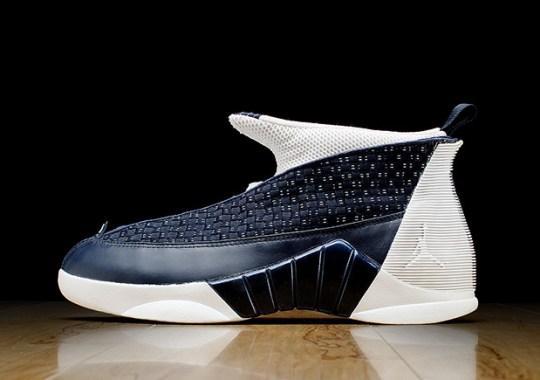"""The Air Jordan 15 """"Obsidian"""" Is Releasing In 2017"""