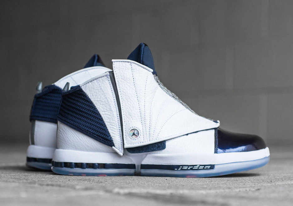"0aca60e24839 Air Jordan 16 ""Midnight Navy"" Available Now Through Early Access"