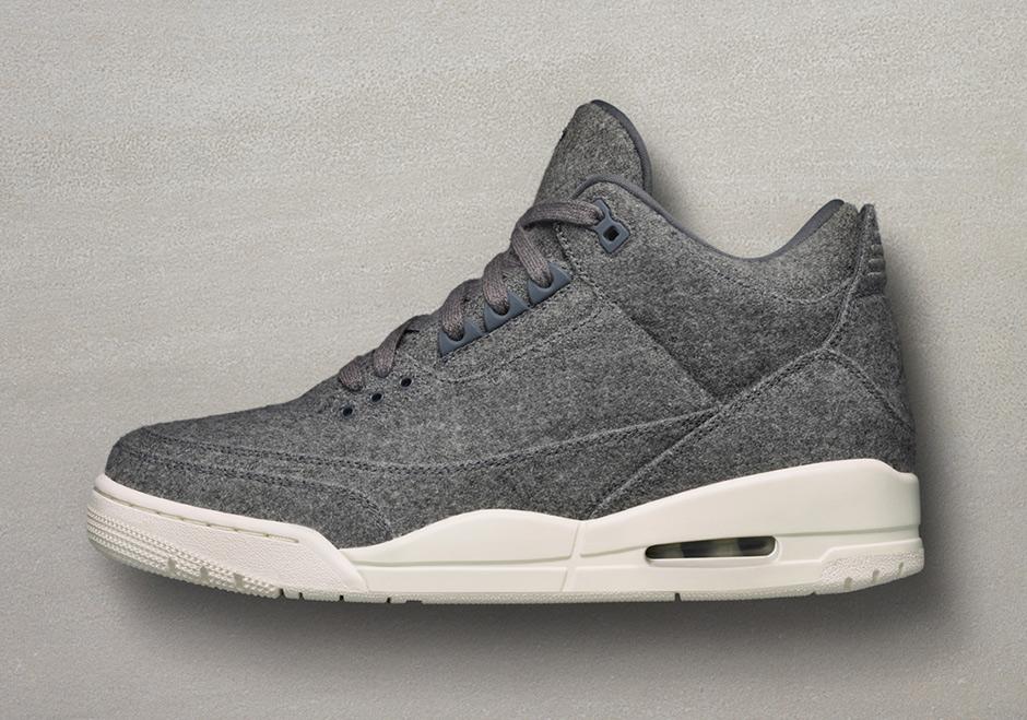 Jordan 3 Wool Release Date Information 854263-004  d60f85aac