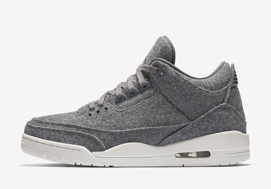 2d1b8ee14cf65e Jordan 3 Wool Release Date Information 854263-004