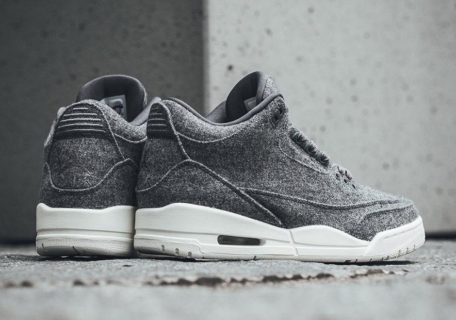 new product 832d3 d98e2 Air Jordan 3 Wool - Where To Buy Online   SneakerNews.com