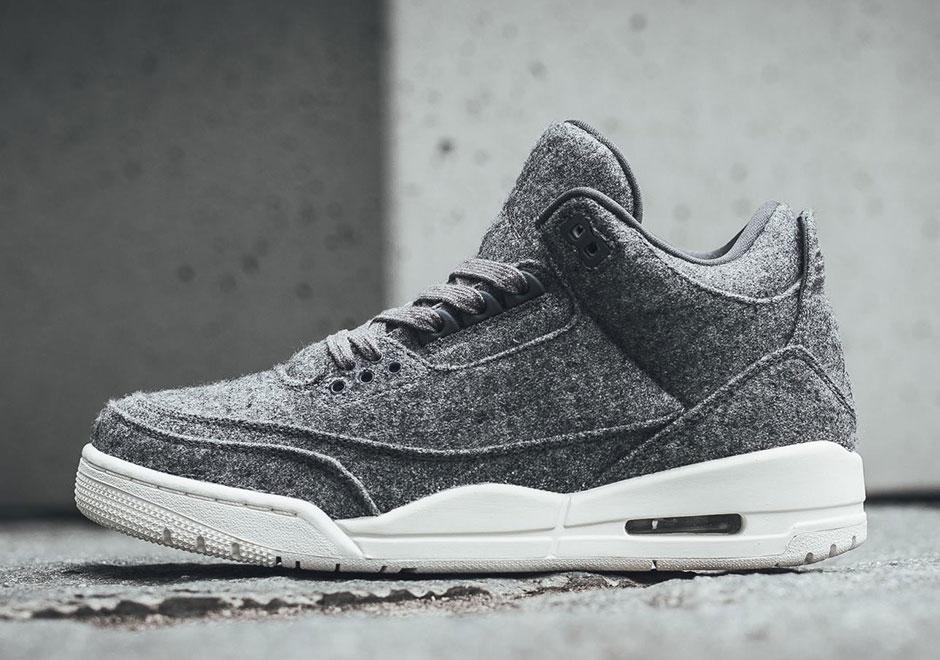 "c5aa6ab42d55f7 Where To Buy The Air Jordan 3 ""Wool"" Online"