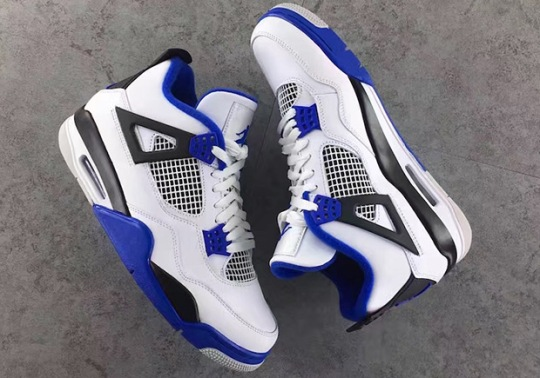 "Air Jordan 4 ""Motorsports"" Releases Next March"
