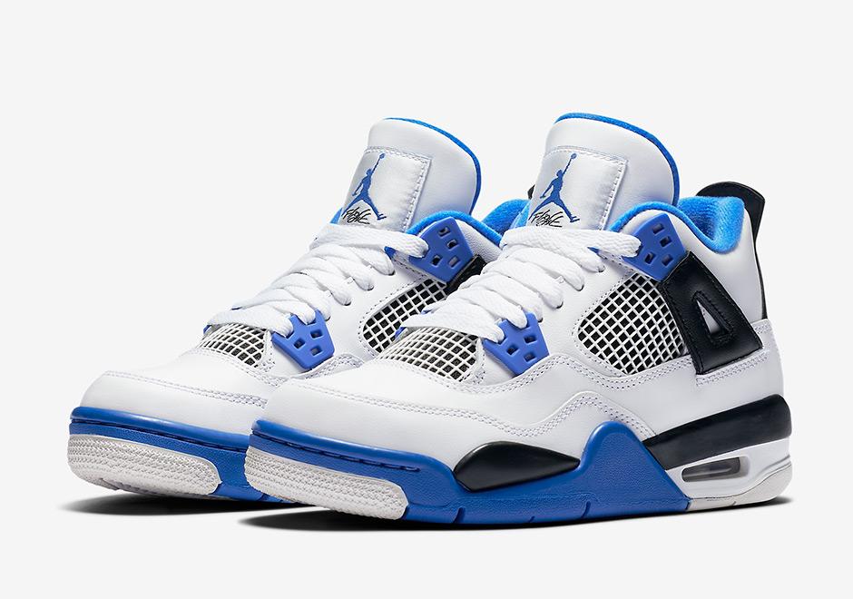 buy online 1794e 91257 Air Jordan 4 Motorsports To Release In Kids Sizes   SneakerNews.com