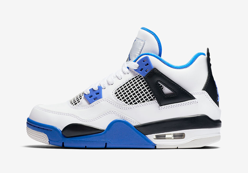 new arrival 19c0c c4f57 Air Jordan 4 Motorsports To Release In Kids Sizes ...