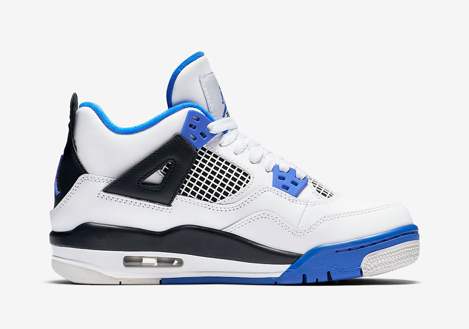 Nike Air Jordan IV Retro GS ??Motorsport Away?? Boys Casual shoes High