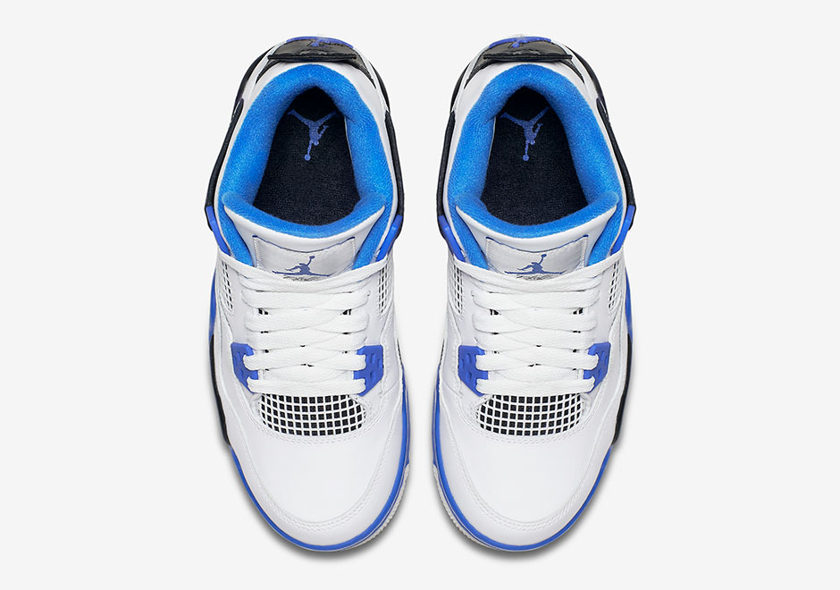 Air Jordan 4 Motorsports To Release In Kids Sizes | SneakerNews.com