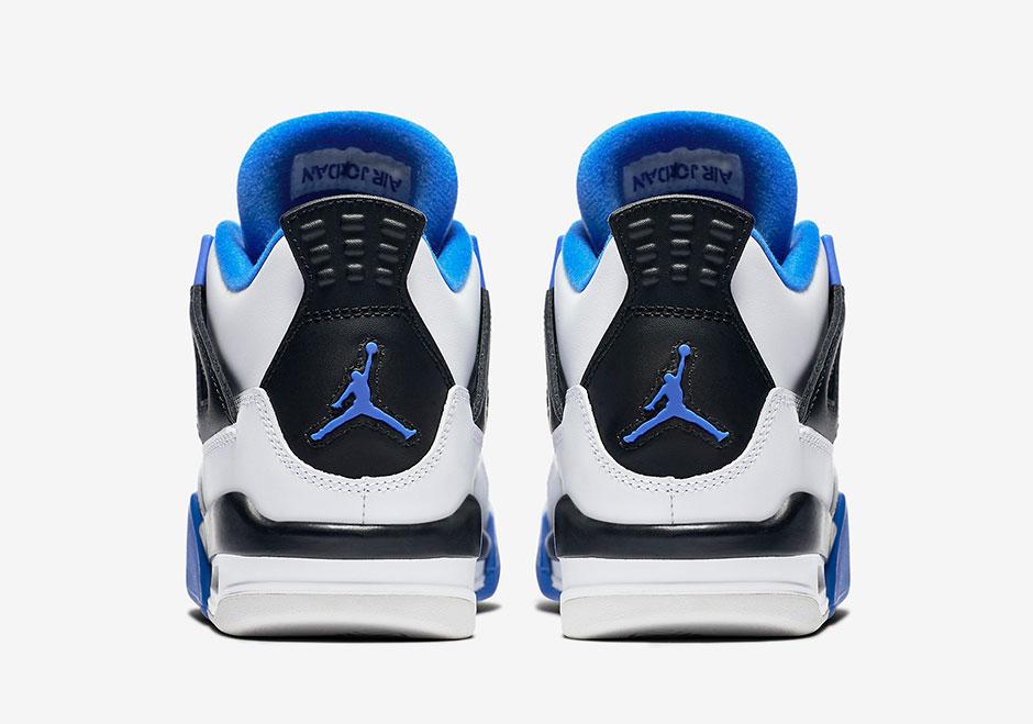 Air Jordan 4 Motorsports To Release In Kids Sizes | SneakerNews.com