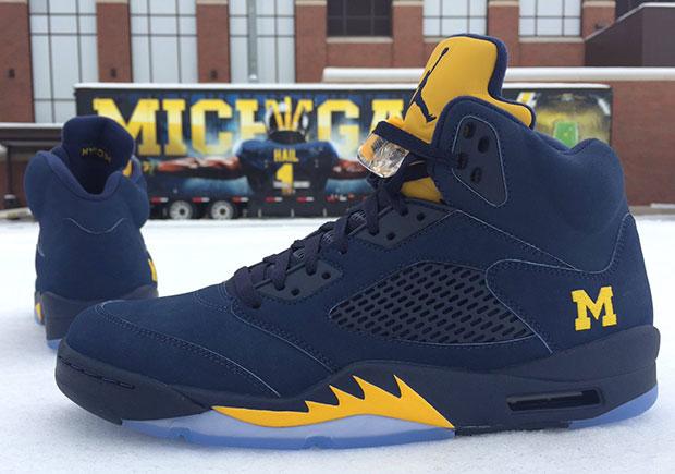 University Of Michigan Jordans Shoes