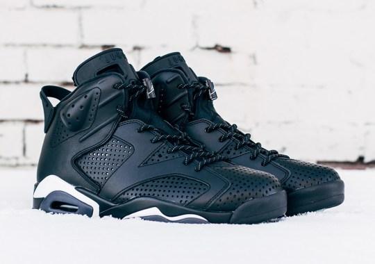"""The Air Jordan 6 """"Black Cat"""" Closes Out 2016"""