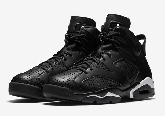 """Where To Buy The Air Jordan 6 """"Black Cat"""""""