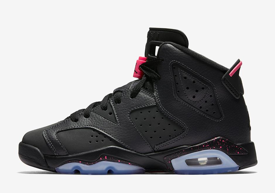 Rose Et Gris Air Jordan 6
