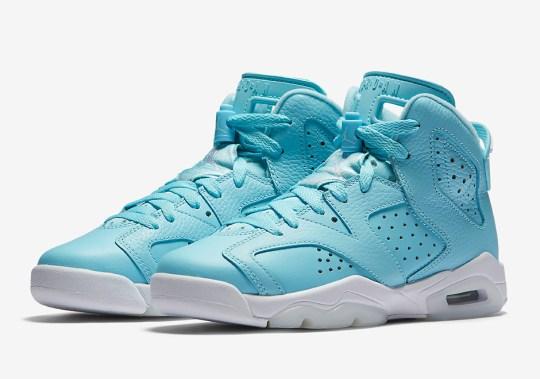 "Air Jordan 6 ""Still Blue"" Releasing In 2017"