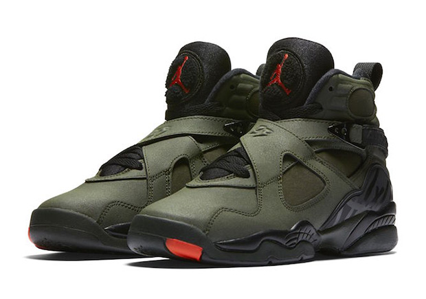 207b8fc4c9a1 Air Jordan 8 Sequoia Undefeated 2017 Release Date