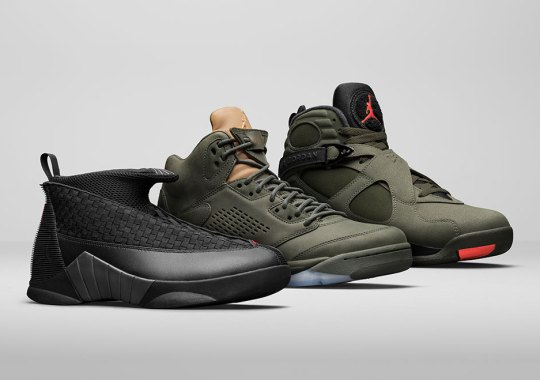 """Jordan Brand Introduces the """"Take Flight"""" Pack With Bomber Jacket Inspired Colorways"""