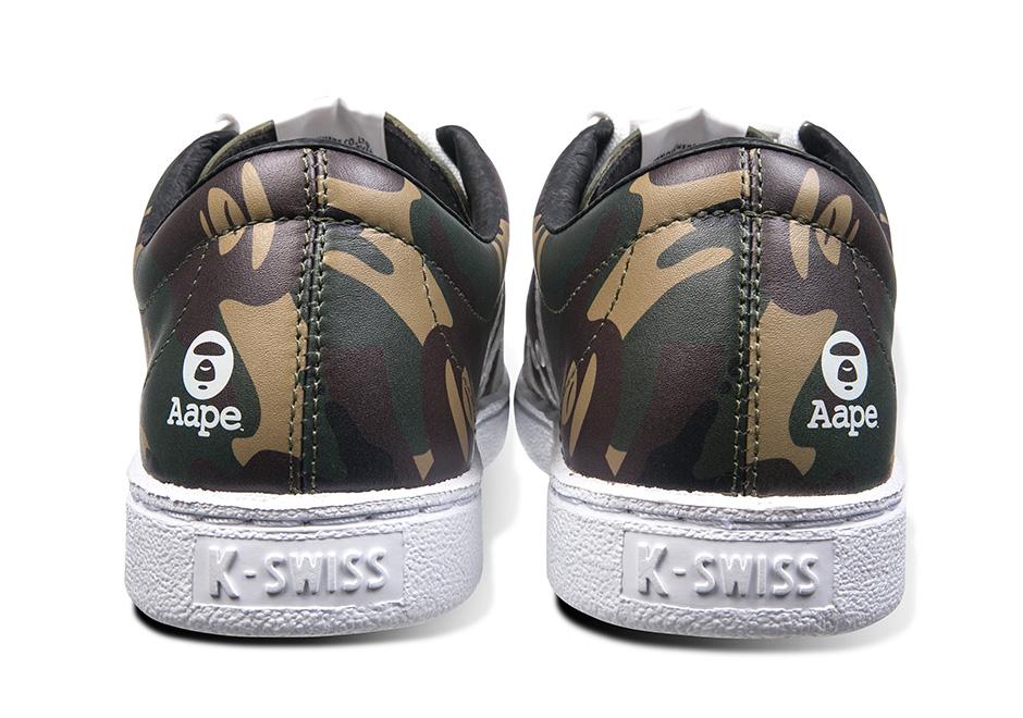 best cheap 5a5b1 32461 AAPE x K-Swiss Classic 66 Release Date Info   SneakerNews.com