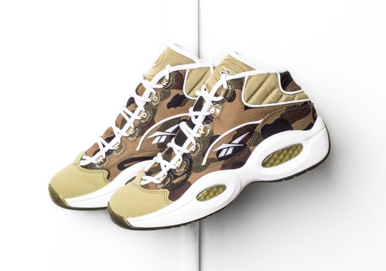 BAPE x mita x Reebok Question Is Now Available