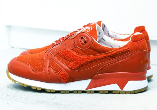 BEAMS Signature Orange Hits The Diadora N.9000