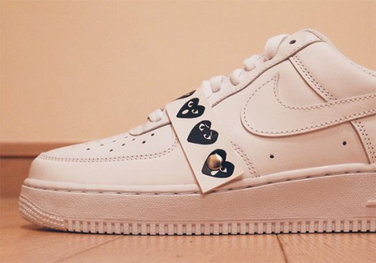 Comme des Garçons Is The Latest Fashion Staple To Collaborate With The Nike Air Force 1