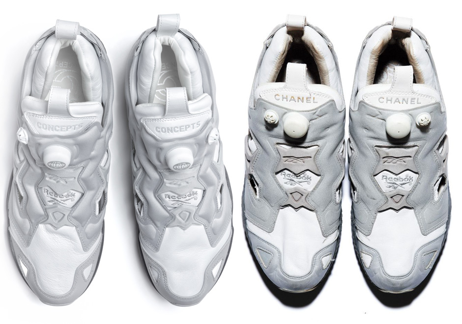 Concepts Recreates Chanel Collaborations Of The Reebok Instapump Fury 9f71474f7
