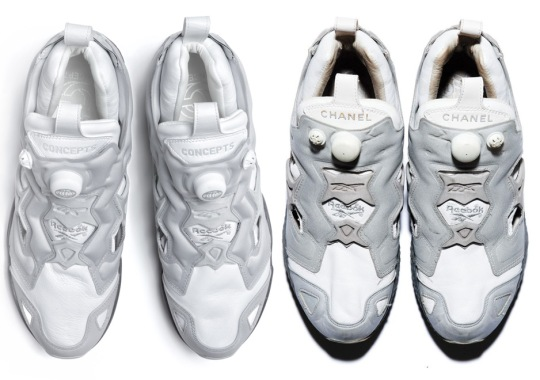 Concepts Recreates Chanel Collaborations Of The Reebok Instapump Fury