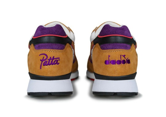 PATTA And Diadora Take It Back To The 90s With A V7000 And Tracksuit