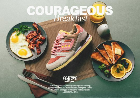 Feature And Saucony Design A Shoe Inspired By A Classic Breakfast Combo
