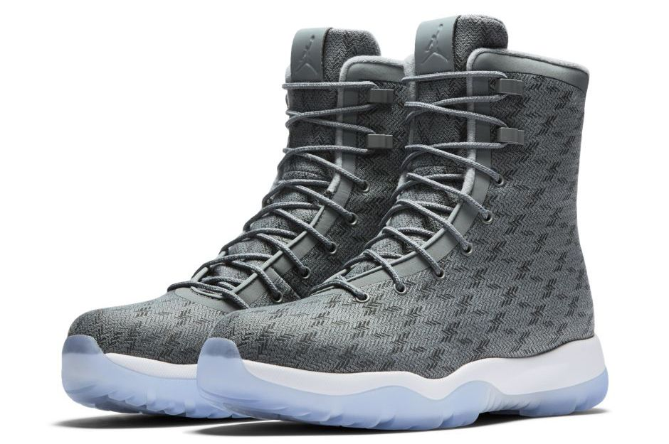 best service c8e1d 54ca6 Icy Soles Arrive On The Jordan Future Boot