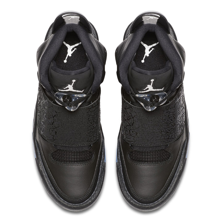 "Jordan Son of Mars ""Black Cat"". Color  Black Metallic Silver-Anthracite  Style Code  512245-010. Release Date  January 1 d9787b7238e4"