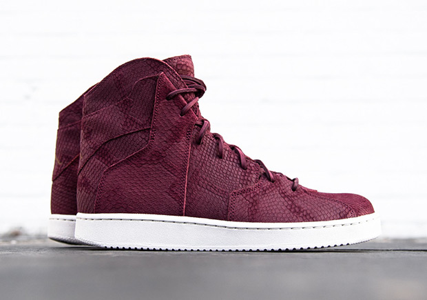 Russell Westbrook s latest lifestyle sneaker keeps dropping in impressive  new looks into the new year with this snakeskin-covered Westbrook 0.2 in  burgundy. d86422fbd